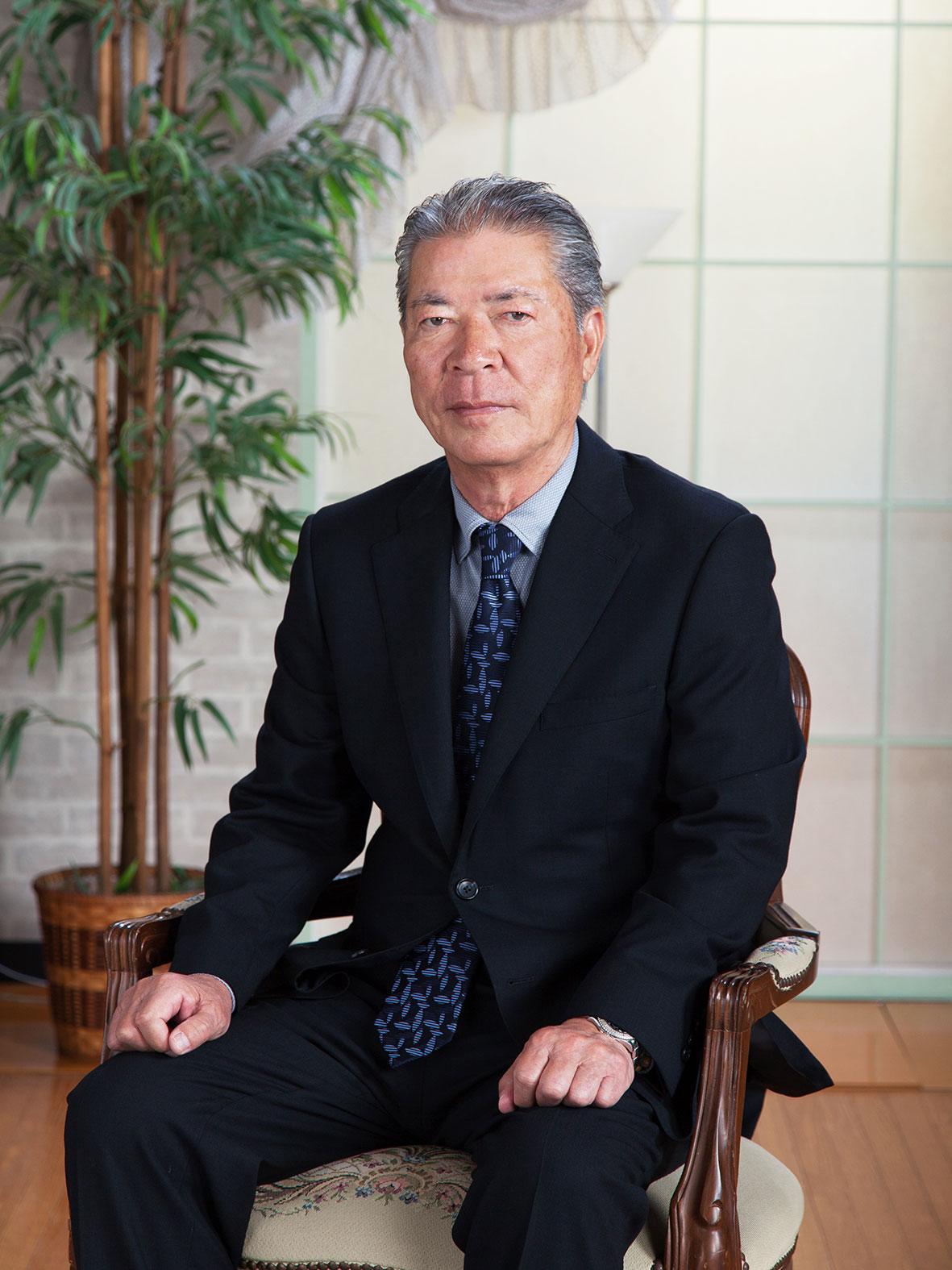 写真:代表取締役 郷原 忠男